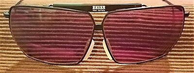 Original ZEISS Sportsman 7032 Black Frame Aviator Sunglasses ~ Made in Germany !