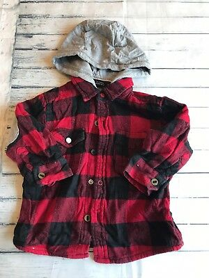 Baby Boys Clothes 9-12  Months -Cute  Next Hooded Shirt  Top-