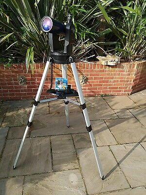 MEADE ETX-80AT-TC Telescope & Astronomy Book - Astronomy Starter Kit