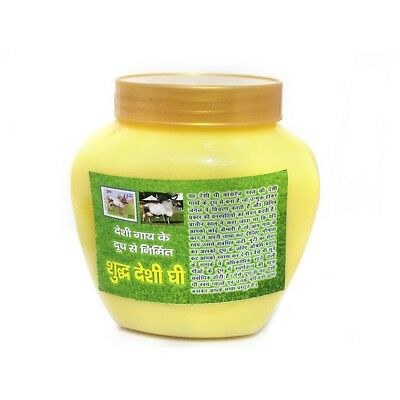 Pure Desi Cow Ghee With Rich Source Vitamins by Gaushaalas (400 Gms)
