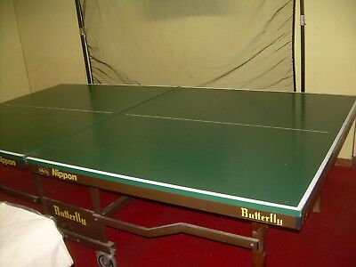 BUTTERFLY NIPPON ROLLAWAY TABLE TENNIS TABLE collect from Herne Bay Kent