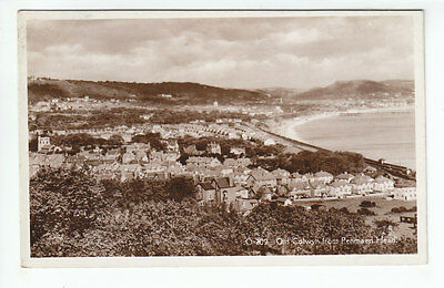 Old Colwyn Bay From Penmaen Head Real Photograph 28 Aug 1939 Richardson Gresford