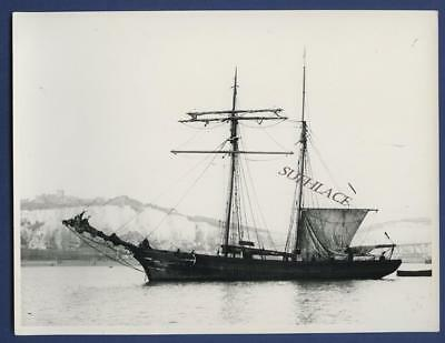 Sailing Ship Un-identified 2 Masted Schooner Dover Sail
