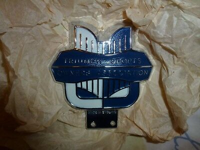 Triumph Sports Owners Association Badge - New