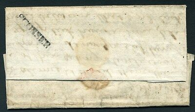 Scotland Scottish Islands Isle of Skye 1802 SCONSER rare entire letter