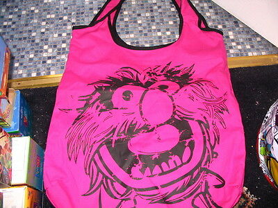 Disney Store Animal Pink Canvas Bag The Muppets Brand New