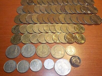 Mixed Lot of Circulated Coins from Chile