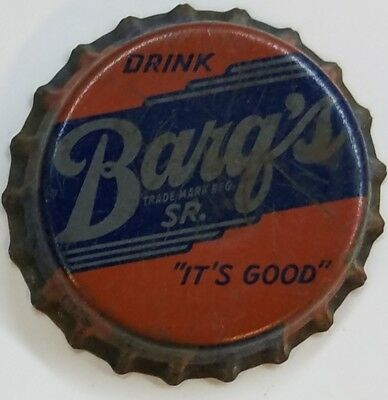 BARQ'S SR ROOT BEER Soda Bottle Cap Crown USED CORK Caps