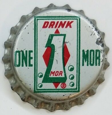 DRINK ON MOR Soda Bottle Cap Crown UNUSED CORK Caps
