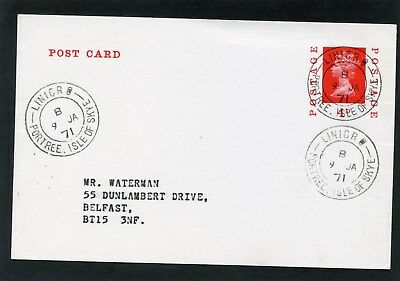 Scotland Scottish Islands Isle of Skye LINICRO postal stationery 1971