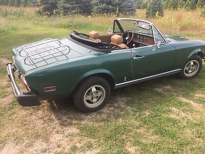 1976 Fiat 124 Spider  1976 fiat 124 spider Price Dropped $1000 must sell - make offer!