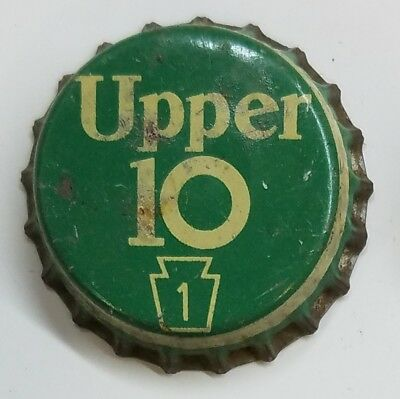 UPPER 10 PA TAX Soda Bottle Cap Crown USED CORK Caps