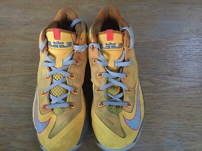 Nike Lebron 11 Low Basketball Shoes Uk8