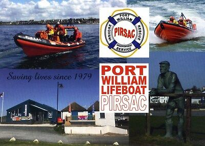 Scotland Port William Wigtownshire Independent Lifeboat