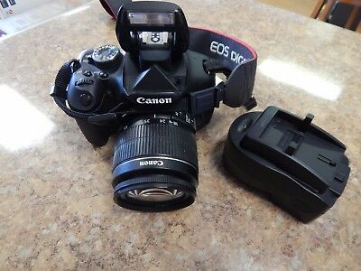 CANON EOS REBEL T3i-600D-DS126311-18.0MP DIGITAL SLR CAMERA with 18-55mm lens