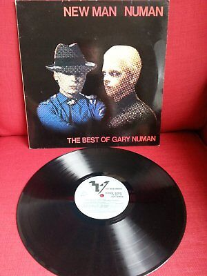 Gary Numan - New man Numan Vinyl LP Album Original 1982