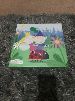 Ben And Holly's Little Kingdom - Canvas Art Block Wall Art Plaques/picture