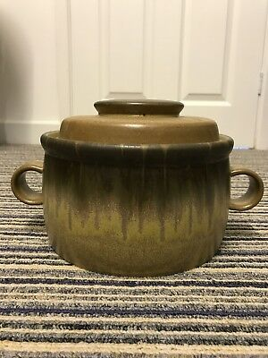 Denby pottery, 1982 Romany great condition, unmarked!