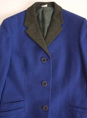 Vintage Authentic GIANNI VERSACE COUTURE 100% Wool Blazer Jacket IT-40 US-6/8 M