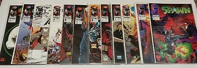 Spawn comic book lot: #1-12, complete