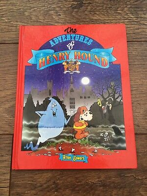 ALTON TOWERS - THE ADVENTURES OF HENRY HOUND BOOK  amusement theme park