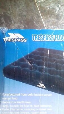 tresspass air beds new with box... camping/fishing/sleep overs/festivals/e.c.t