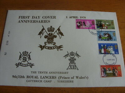 Very Rare limited edition 1970 military first day cover.