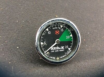 Redux car care robot gauge vacuum gauge 52mm