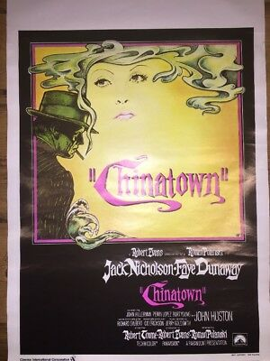 Chinatown Original Movie Poster