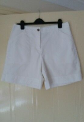 White Charter Club Shorts NWT size 14 uk 12usa