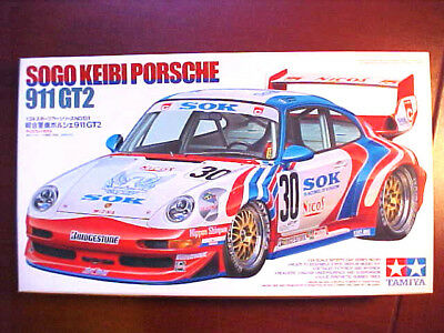 Tamiya Sogo Keibi Porsche 911 GT2 model car  1/24 scale *** CHASSIS ONLY