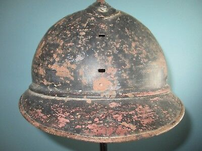 unknown French M15 Adrian infantry helmet WW1 casque stahlhelm casco elmo 胄 шлем