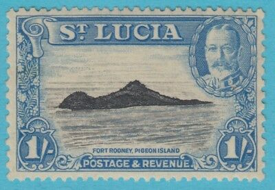 St. Lucia 103 Mint Hinged Og *   No Faults Extra  Fine !