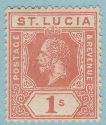St. Lucia 71  Mint Hinged Og *   No Faults Extra  Fine !