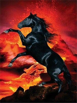 Horse Puzzle- Heavenly Horses- Fire in the Night