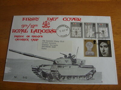 Very Rare limited edition 1969 military first day cover.