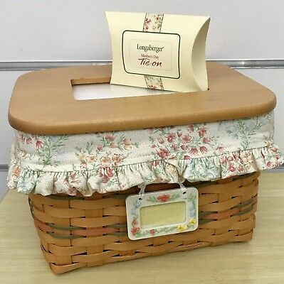 Longaberger Mother's Day Mom's Memories Basket Combo 2002