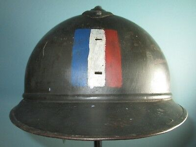 genuine 60 cm WW1 French M15 Adrian helmet casque stahlhelm casco elmo 胄 шлем xx