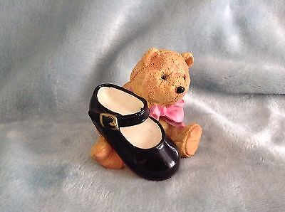 Trinket Box Teddy And Shoe Just The Right Style Mary Jane