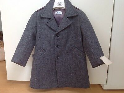 "Vintage Wool ""Rob Roy"" Coat Unworn"