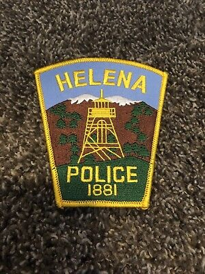 Helena Mt. Police  Shoulder Patch, Insignia, Capital City