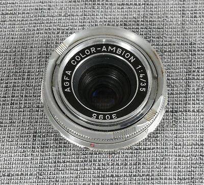 Agfa Color-Ambion 35mm f/4 lens For Agfa Ambi Silette