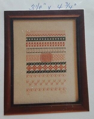 Something Different - a Counted Thread Sampler kit from US