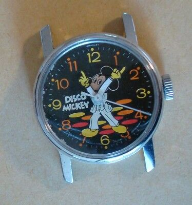 Disco Micky Mouse Watch, Runs And Looks Spankin, Lets Dance The Night Away