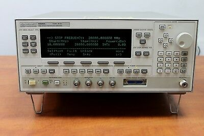 10MHz - 20GHz AGILENT HP 83620A SYNTHESIZED RF SIGNAL GENERATOR SWEEPER - TESTED
