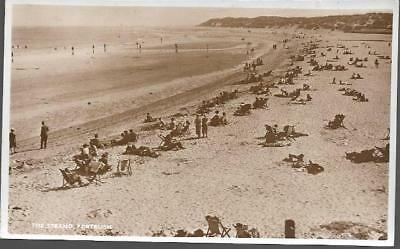 Portrush, Co. Antrim - Strand (beach) - real photo postcard by Gordon Of Belfast