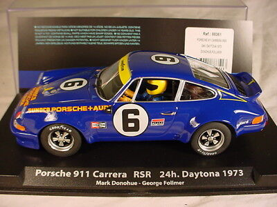 Fly Porsche 911 Carrera RSR #6 Daytona 1973 SUNOCO 88351 MB 1/32 slot car