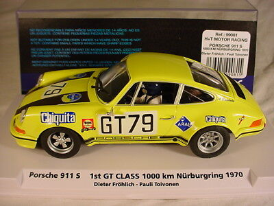 Fly Porsche 911 S #79 Nurburgring 1970 Chiquita 99081 #085 of 500 MB 1/32