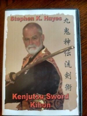 Stephen K. Hayes To-Shin Do Kenjutsu Sword Kihon Fundamentals DVD