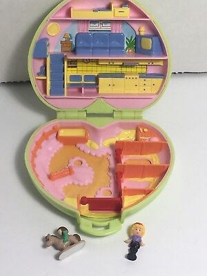 Polly Pocket Bluebird Pony Club With Horse And Polly.